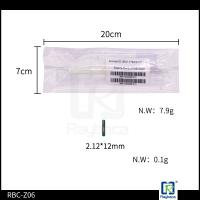 Best ICAR certified Glass Tube Electronic RFID Tag  For Horse Chip Size 2.12*12mm wholesale