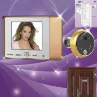 China Digital Door Viewer (3.5 inch touch panel) on sale