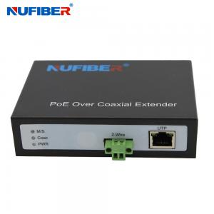 Best NF-9802 IP Ethernet Over Coaxial Extender, 2 Wire Lan Extender with POE Function 0-300meters wholesale
