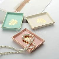 Rectangle shaped ring dishes jewelry dishes trinket dishes
