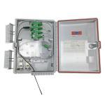 Best FC / SC / LC Adapter Fiber Optic Terminal Box FTTH 24 Core IP68 wholesale