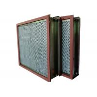 Best Aluminum Foil High Temp Hepa Filter Separator For Cleaning Room wholesale