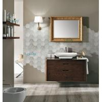 Wall Mounted Transitional Bathroom Vanities Simple Design For Small Space Bathroom