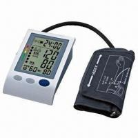 Best Arm blood pressure monitor with LCD screen, 4 x AA batteries power supply wholesale