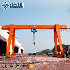 China Wide Span Hoist Gantry Crane , Hoist Lifting Equipment Electric Gantry Crane on sale