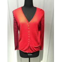 Best Computer Knitted Womens Red Cardigan Sweater Long Sleeve Anti Shrink wholesale