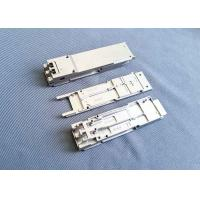 China Optical Housing Zinc Die Casting Parts Polishing SFP Transceiver Module on sale
