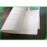 Best Oil Resistant 100gsm + 10gsm PE One Side Coated White Food Grade Kraft Paper For Wrapping Food wholesale