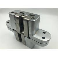 Mortise Mount SOSS Invisible Hinge For Inset Doors Satin Chrome Finishing