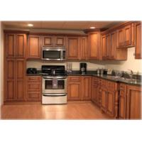 Buy cheap solid wood kitchen cabinet with lazy susan from wholesalers