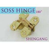 Best Stainless Steel Furniture Hardware For Concealed Door , Adjustable Door Hinges wholesale
