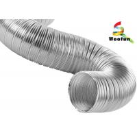 Best High Flexibility Semi Rigid Air Conditioning Aluminum Flexible Ducting wholesale