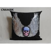 China alibaba supplier 100%polyester home linen pillow cover decorative cushion with competitive price on sale