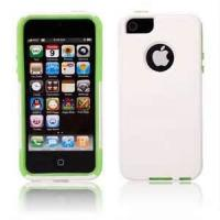 China PC + silicone Anti - fall iPhone 4, 4s, 5 / Mobile Phone Protective / protector Cases for promotion gift on sale