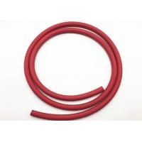 Best Red Fabric Braided Compressed Air Hose / Flexible Rubber Hose B.P 900psi wholesale