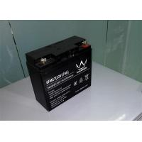 China Electric scooter / Inverter Rechargeable Sealed Lead Acid Battery 12v 17ah 6FM17H on sale