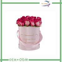 China Modern Clear Paper Flower Gift Boxes 36pcs Rose Package Fresh Cut Flower Box on sale
