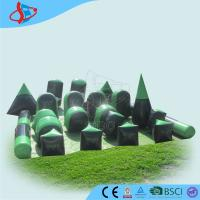 China Fun Kids Games Inflatable , Obstacle Courses , Inflatable Sports Games for Children Playground on sale