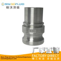 Best Professional Male Female Camlock Fittings Investment Casting With DIN 2817 Safety Clamps wholesale