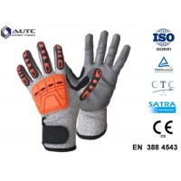Best Prosafe Hand Protection Gloves , Nitrile Protective Gloves Shock Absorption wholesale