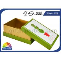 China Diamond Decorated CCNB Soap Gift Boxes / Soap Packaging Box for Christmas Promotion on sale