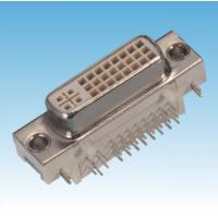 Best D-sub,DVI Connector, MIL-DTL-38999/Female/Right Angle and DIP-Type/DVI to DVI Cable wholesale