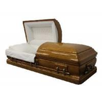 Buy cheap American Style Solid Wood Casket (A012) from wholesalers