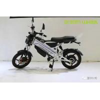 Best Off Road Style Electric Moped Scooter , Motorised Battery Operated Scooter With Disc Brakes wholesale