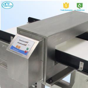 Best Sound And Light Alarm Conveyor Belt Metal Detector In Food Processing Industry wholesale