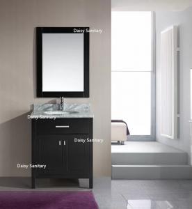 Best European Style Modern Vanity Set , Safe And Integrate Modern Single Sink Vanity wholesale