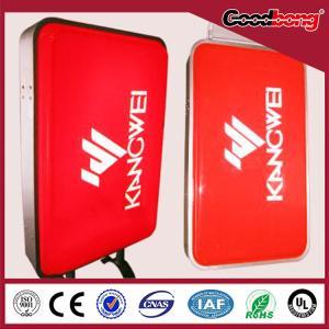 China New Design LED Display Hanging Acrylic Aluminium frame Light Box on sale