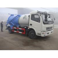 China hot sale cheapest dongfeng duolika 4*2 LHD/RHD 6m3 sewage vacuum truck, 2019s new 6,000Liters sludge tank truck on sale