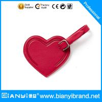 Best Various shape colorful fashionable travel luggage tag wholesale