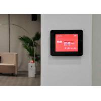 Professional Wall Mount Android POE Touch Screen 2  X 1 Watt Speakers For Intercom