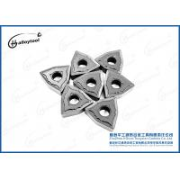 Best WNMG080408 CNC Tungsten Carbide Inserts For Lathe Mining , Long Life Time wholesale