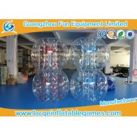 Best Skill Printing Inflatable bumper balls for adults / Entertainment inflatable body bumpers wholesale