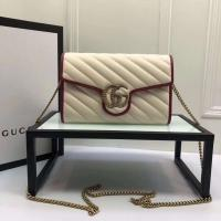 Best 【GUCCI】  Gucci  Lovely little strawberry  Multi-functional single shouldered chain bag can be used as a handbag wholesale