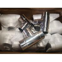Cheap Bright Satin Stainless Steel Handrail Fittings Polish 500 - 600 Grits Material for sale