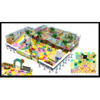 China Popular Plastic School Gym Indoor Soft Playground with Big Slides for Kids on sale