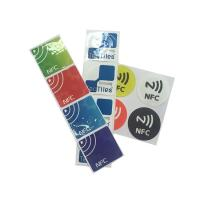 Best Custom Printing 13.56mhz Ntag215 Ntag213 Nfc Tags 1-10cm Reading Distance wholesale