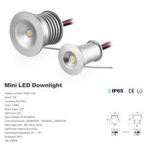Best 1W Mini Recessed LED Downlights 12V 3V Showcase Room Decorative Lighting Small Led Spotlights Ceiling Lights wholesale