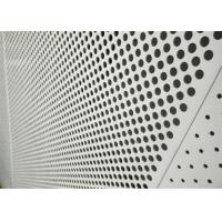 Best Decorative Perforated Aluminum Sheet 5005 For The Curtain Wall / Electric Conductor wholesale