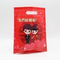 Cheap factory supply with lamination wedding foldable d-cut non woven gift bag for sale