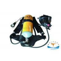 Cheap Firefighter Portable Breathing Apparatus 30 MPa Working Pressure With Steel Cylinder for sale