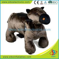 Best Coin Operated Animal Ride Fun Games Coin Operated Plush Motorcycle wholesale