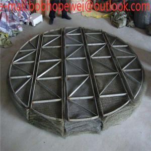 China High Efficiency 0.23mm,0.25mm Wire Mesh Demister/Stainless Steel Mist Eliminator, Demister Pad /,gas demister,demister on sale