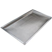 Best Food grade stainless steel perforated filter moisture drying tray wholesale