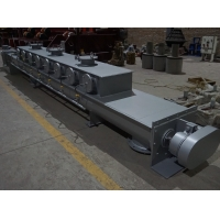 China 7.5KW Horizontal Helical Bevel Geared Auger Screw Feeder on sale