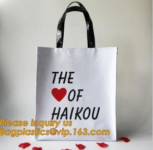 Best Loop Handle Biodegradable Shopping Bags Promotional Waterproof Cosmetic wholesale