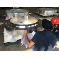 Best Stainless Steel Flanges ASME SA-182 Gr.F321H, BUG SIZE, FVC Forging,RTJ HB (Nut Stop),For Chemical Industry application wholesale